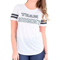 Team Mommy T-Shirt - White