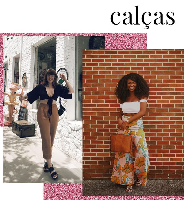Kiitan A. e Marielli Mallmann - calça-longo - calça - verão - street style 2019