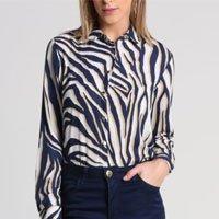 Camisa Estampa Animal Print