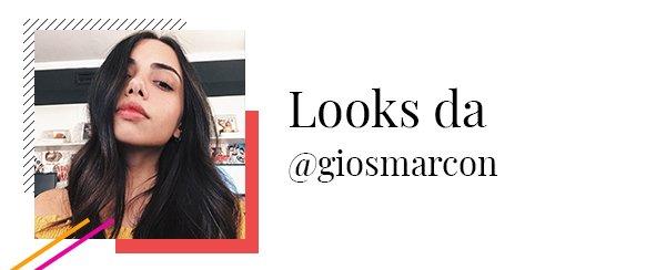Giovana Marçon - looks - looks - inverno - looks
