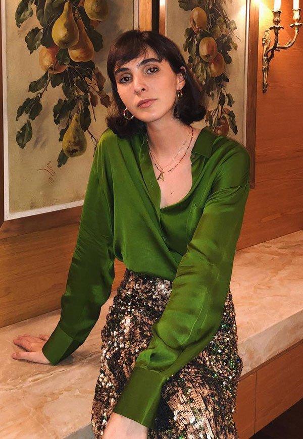 Angelica Bucci - verde - verde - verão - street-style