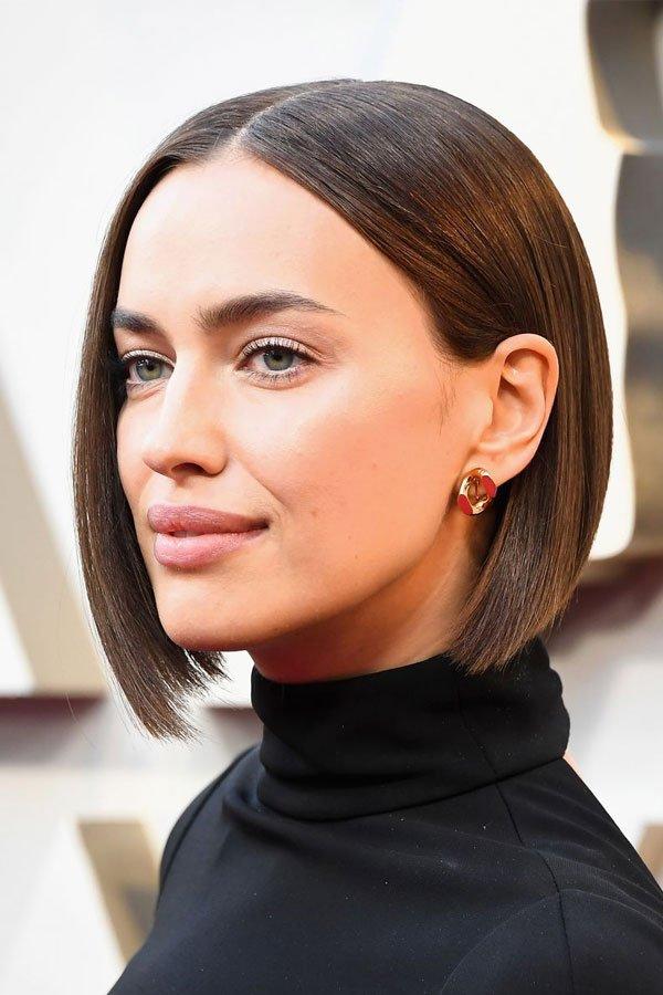 irina shayk - makeup - beauty - beauty - oscar 2019