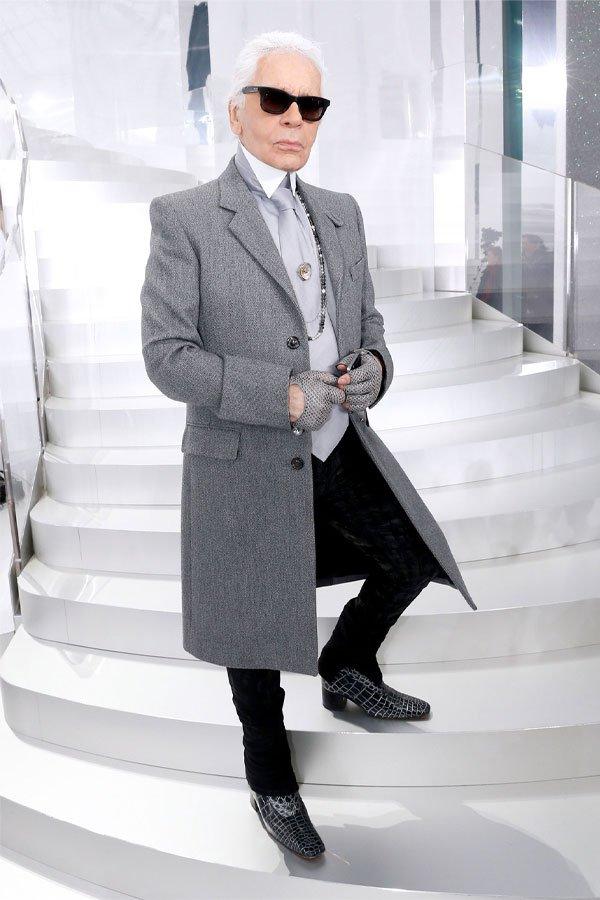 Karl Lagerfeld - --- - estilista - --- - paris