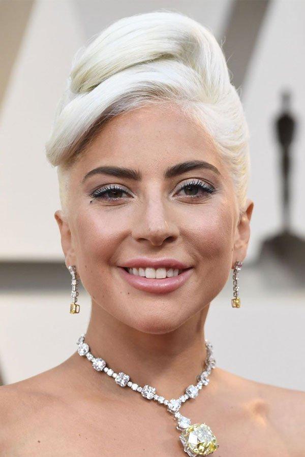 Lady Gaga - makeup - beauty - makeup - oscar 2019