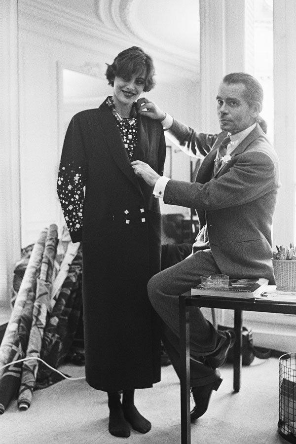 Karl Lagerfeld - chloe - estilista - --- - paris