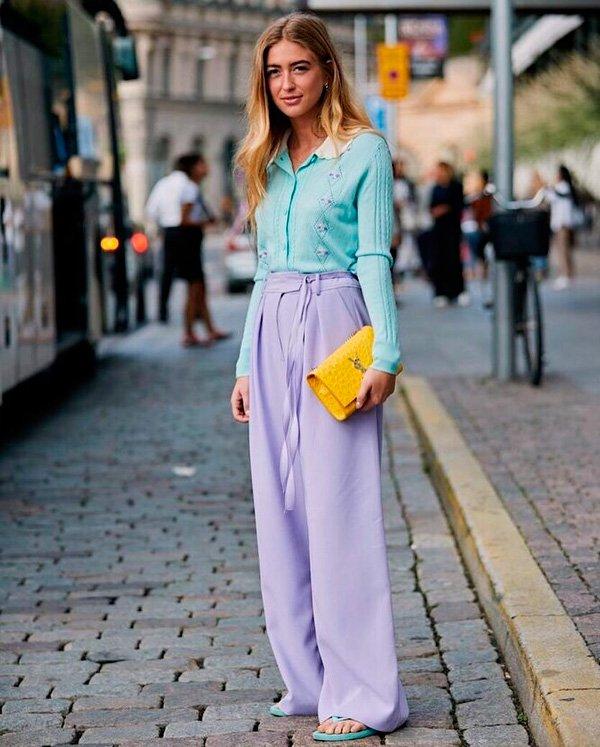 Emili Sindlev - lavanda - lavanda - verão - street-style