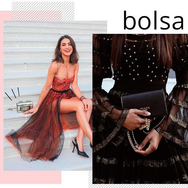 Camila Coelho, Natasha Ndlovu - bolsa - casamento - verão - street-style