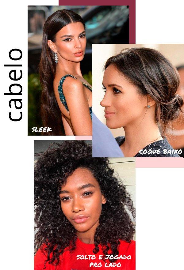 Emily Ratakowski, Meghan Markle, Cheyenne Maya - cabelo - casamento - verão - street-style