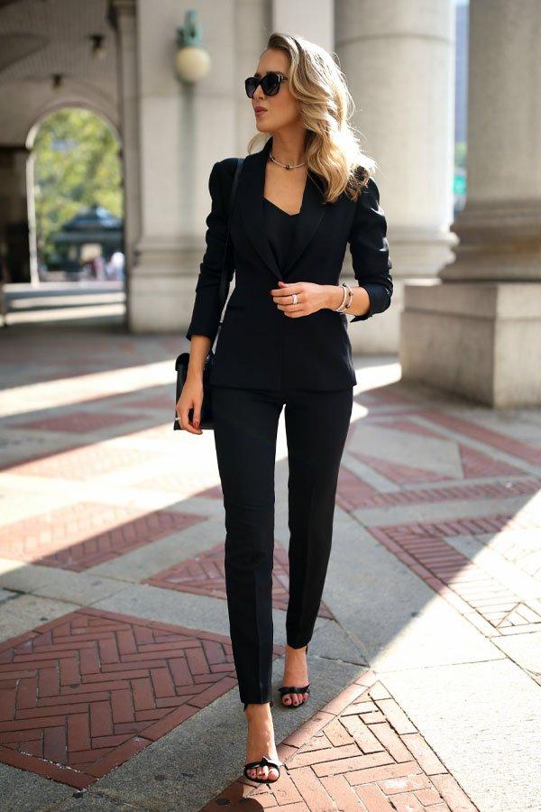 Mary Orton  - calça e blazer - terninho - verão - street style