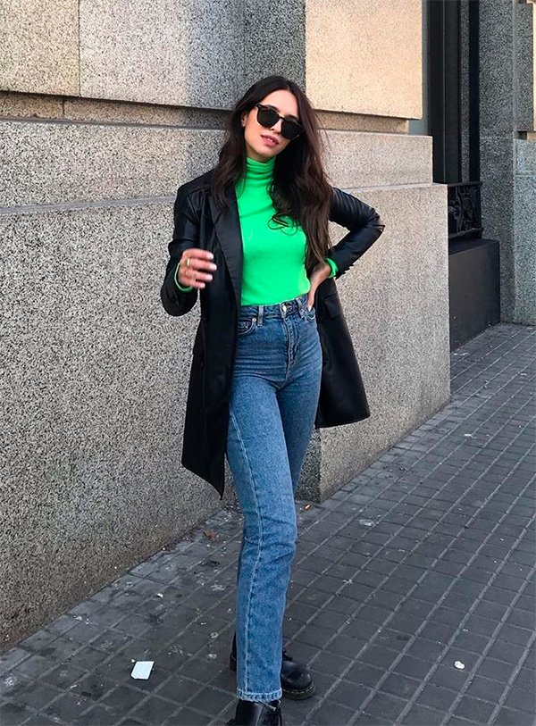 Vic Hollo - neon - neon - inverno - street-style