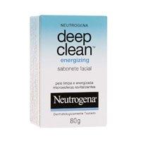 Deep Clean Energy Sabão Facial 80G, Neutrogena, Neutrogena, 80g