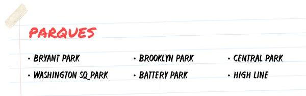parques - nyc - guia - turisticos - lugares