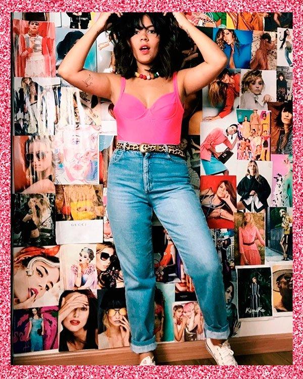 Flavia Gomes - pink - pink - verão - street-style