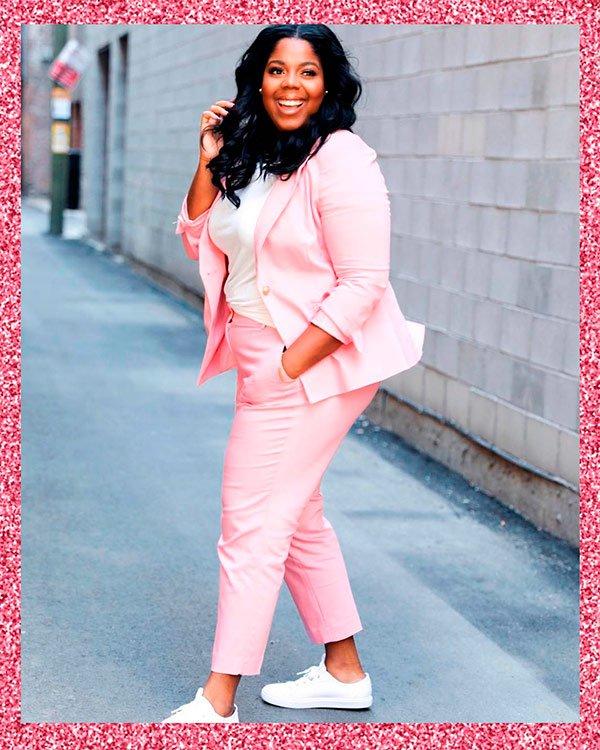 Hayet Rida - pink - pink - verão - street-style