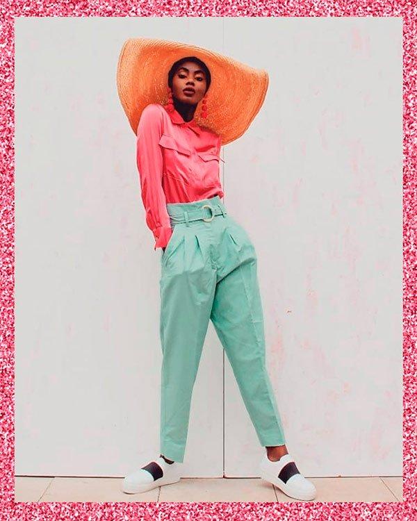 Marta Lungo - pink - pink - verão - street-style