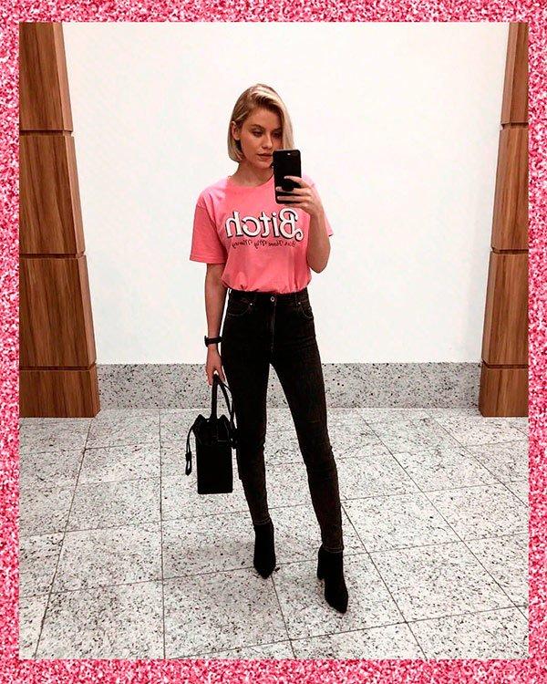 Monique Guerini - pink - pink - verão - street-style