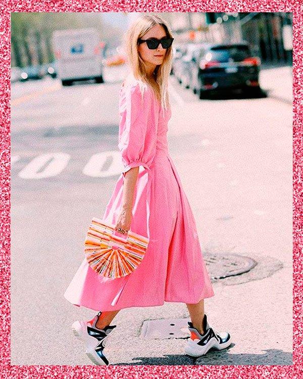 it-girl - pink - pink - verão - street-style