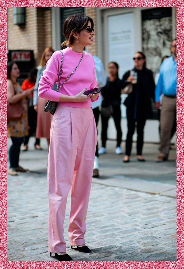 it-girl - pink - pink - inverno - street-style