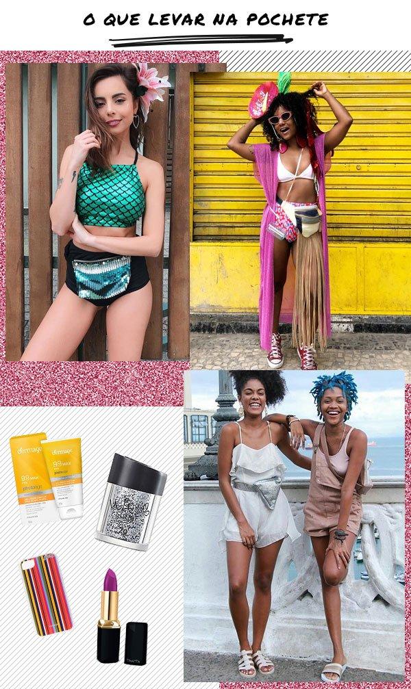 it-girl - pochete - carnaval - verão - street-style