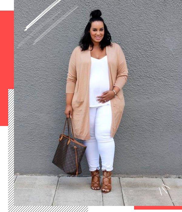 it-girl - all-white - grávidas - verão - street-style
