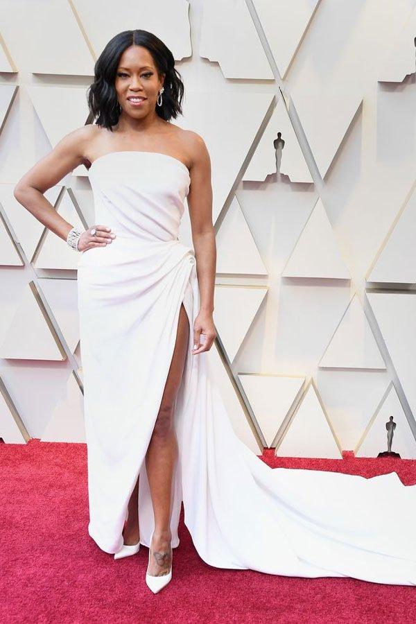 Regina King - vestido - Oscar de la Renta - premiação - oscar 2019