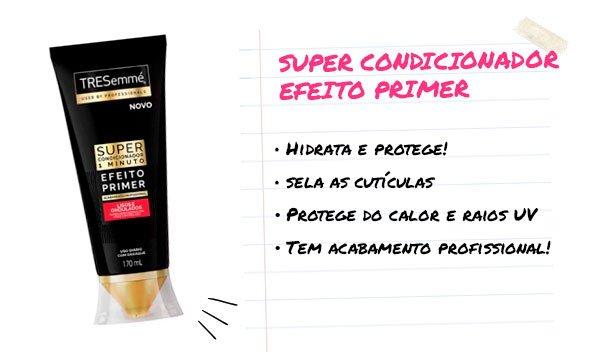 super condicionador - tresemmé - cabelo - hidratação - cabelos saudáveis