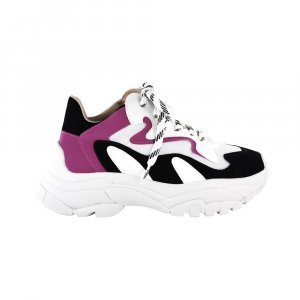 Tenis Harper Branco /rosa Chunky Sneaker Dad Shoes