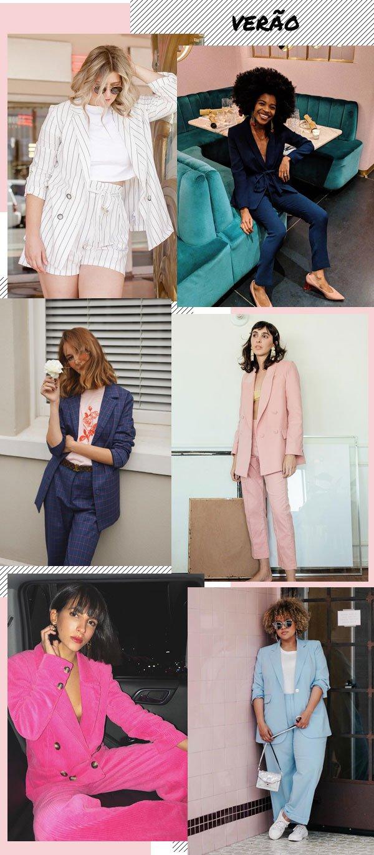 Frédérique Harrel, Gabi Fresh, Jessica Alizzi, Nathalie Billio e Raeann Langas - terninho - terninho - verão - street style 2019