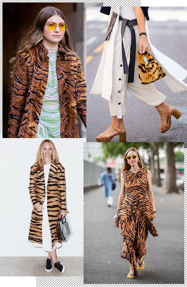 Tigre - Tigre - Estampa - Inverno - Trendy Now
