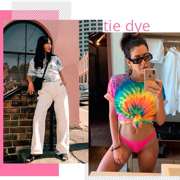 Camila Coutinho - tie dye - tie dye - verão - street-style