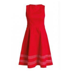Vestido Evasê Quintess Plus Size Vermelho
