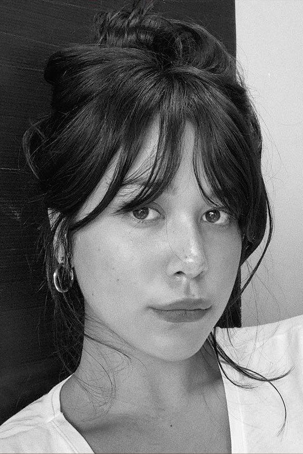 Victoria Yamagata - cabelos - franjas - hair - bangs