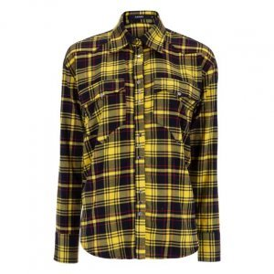 Camisa De Flanela Xadrez Western