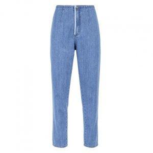 Calça Jeans Mom Detalhe Vista