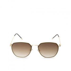 Óculos De Sol Aviador Geométrico