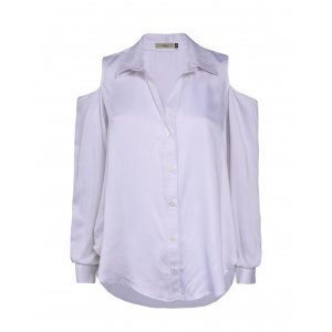 Camisa Feminina Open Shoulder