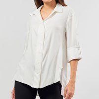 CAMISA RUSSEL OFF WHITE