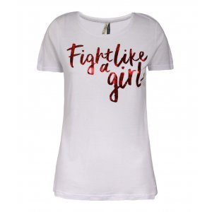 Camiseta Feminina Fight Like A Girl