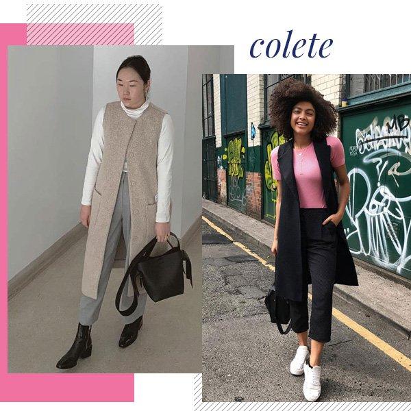 Gabriela Song, Samio - colete - office look - meia-estação - street style