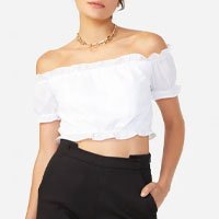 Shoulder-neck Top Frufru