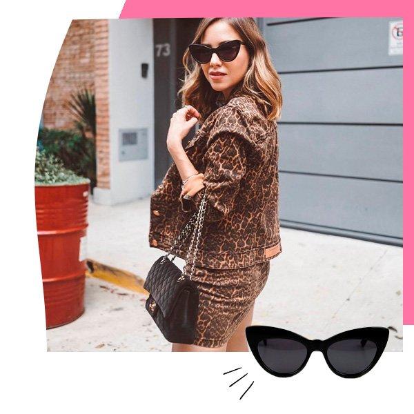 Luisa Accorsi - óculos de sol - gatinho - outono - street-style