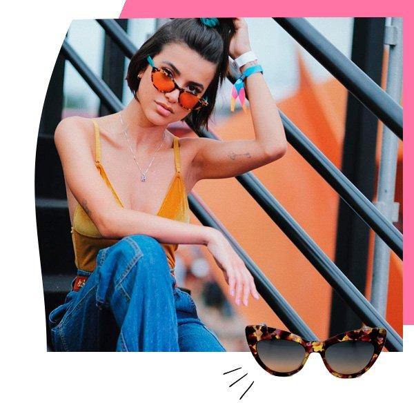 Manu Gavassi - óculos de sol - gatinho - outono - street-style