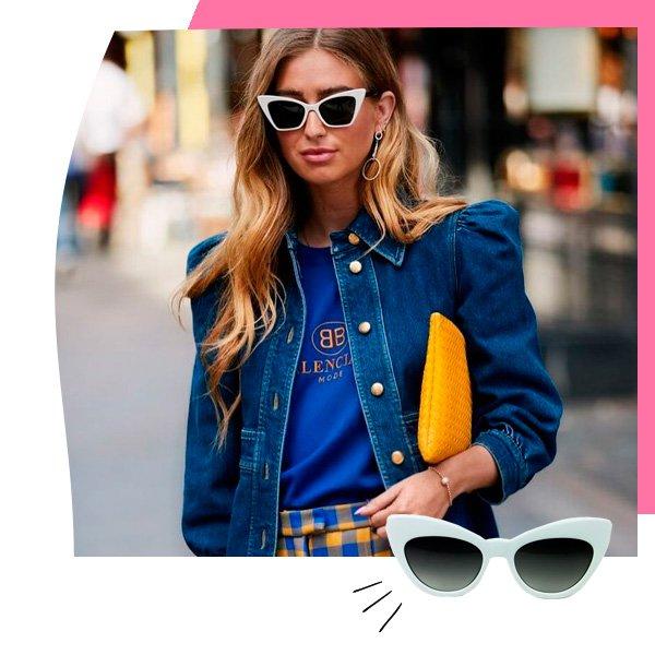 Amanda Cassou - óculos de sol - gatinho - outono - street-style