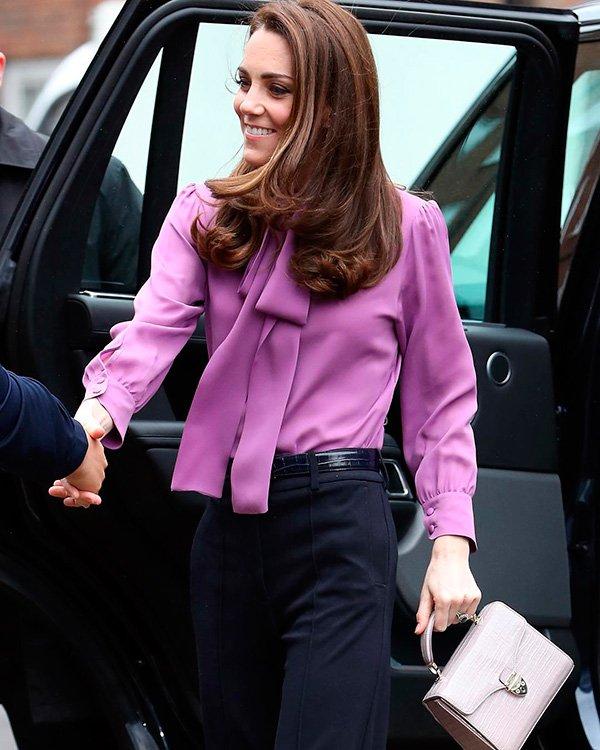 Kate Middleton - lavanda - lavanda - outono - street-style