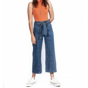 Calça Jeans Nó Tamanho:g - Cor: Azul