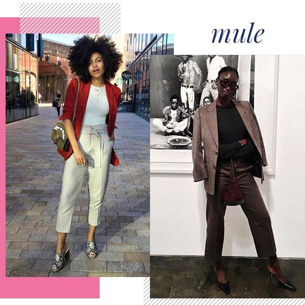 Amy Sall, Samio - mule - office look - meia-estação - street style