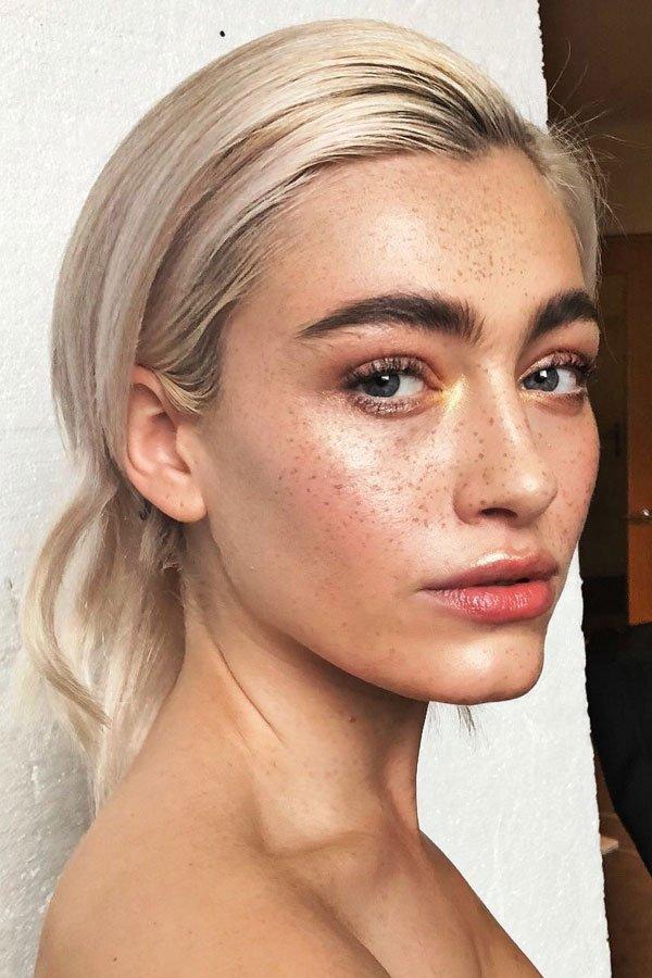 reprodução pinterest - sobrancelhas - maquiagem - makeup - rosto