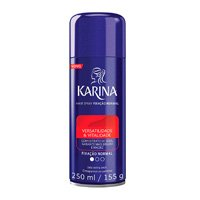 Hair Spray Fixador 250 ml Normal, Karina, Pequeno