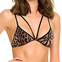 Top Strappy Animal Print   527.011