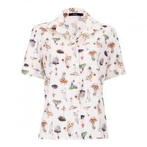 Camisa Manga Curta Com Elastano